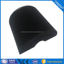 compressible accordion cover flexible bellows cover
