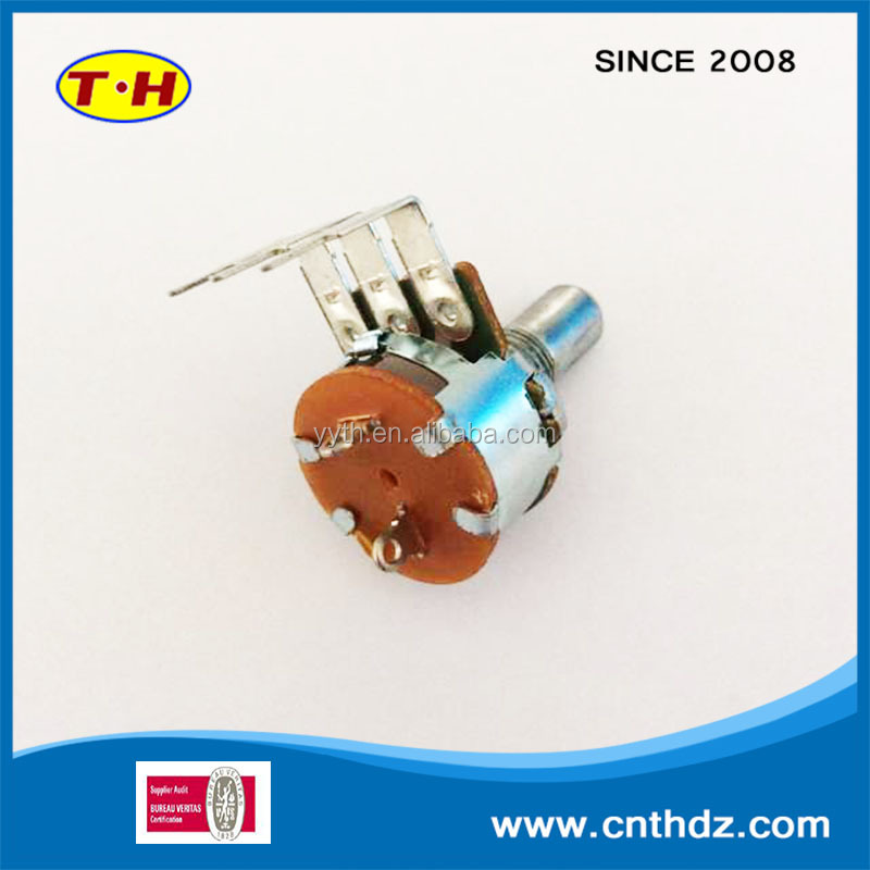 TengHui Electronics Company is professional in developing and manufacturing rotatry potentiometers and adjustable resistance