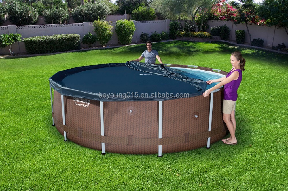 24 ft large steel wall pool/rectangular steel wall steel wall above ground swimming pools