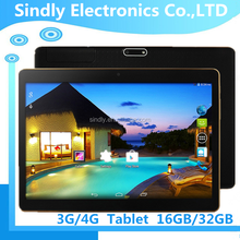 "9.6"" MTK6582 Quad tablet pc 3G tablet pc android 5.1 RAM 1G+8G ROM support GPS bluetooth 4.0 WCDMA phone call tablet"