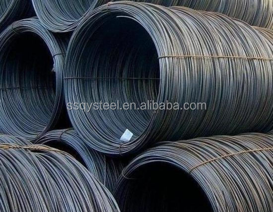 hot rolled GuoYi low carbon steel 8.0mm&9.0mm wire rod SAE1006 SAE 1008 SAE 1010 SAE1012 for nail or civil construction