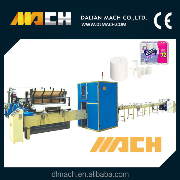 Fully Automatic Small Toilet Tissue Paper and Kitchen Towel Production Line