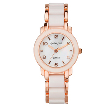 3ATM beautiful watch ladies with changeable leather watch strap