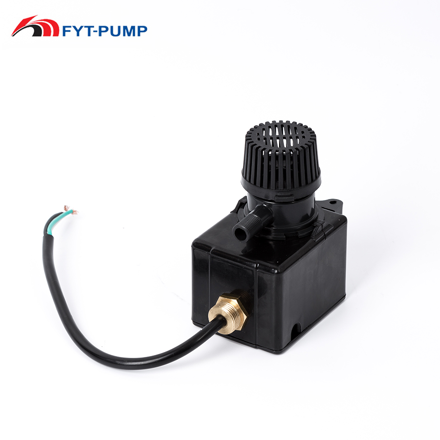 800L/h low flow mini plastic AC water submersible small slurry pump