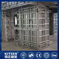 Construction solidity aluminum formwork for high rise building