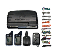 2016 Tomahawk magicar viper two way smart car alarm system with remote engine start functions