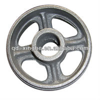Customized sand casting flywheel&sand casting chain wheel