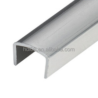 U Shape Aluminum Extrusion Profiles 12mm