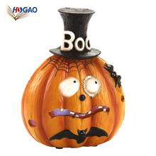 Mini figurines craft resin halloween decorations wholesale resin pumpkins for home decor