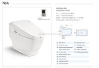 Smart bathroom commode one piece ceramic intelligent toilet shower toilet