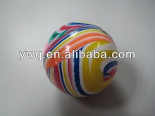 45mm cheapest and free custom printed bouncy balls