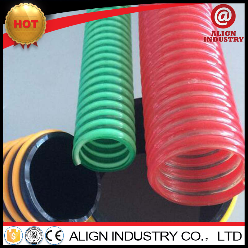 non-toxic uv resistant suction hose pvc collapsible plastic pipe
