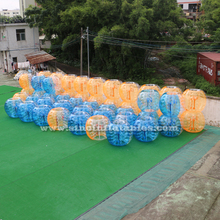 Transparent inflatable body bumper ball for adult outdoor bubble soccer interactive fun