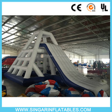 Free shipping water slide mat,inflatable water sports,water park element