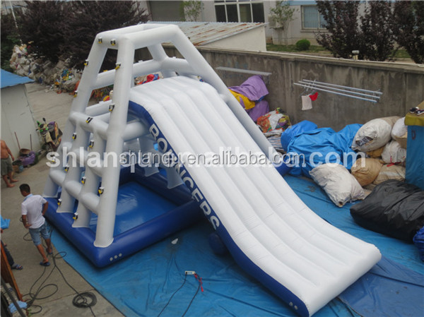 used water slides floating water slides lake inflatable water slides