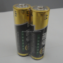 Long life Nanfu AA LR6 alkaline battery made in China