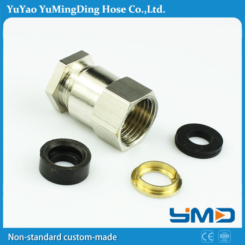 Stainless steel customized Quick Joint cylinder connections hose connections