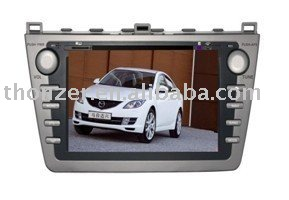 7inch New Special car GPS DVD for MAZDA 6