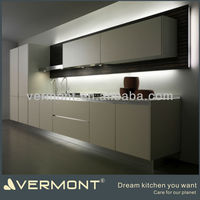 Real pictures melamine modular kitchen furniture