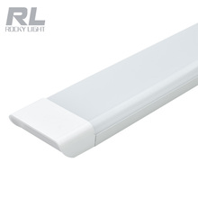 4ft 1200mm 48W Led Tube Flat Batten Light Super Brightness 3 Lines led chip linear tube