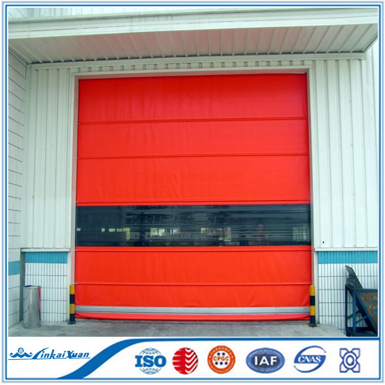 2016 new design good quality high speed rolling shutter door/CE certificate rapid rolling shutter