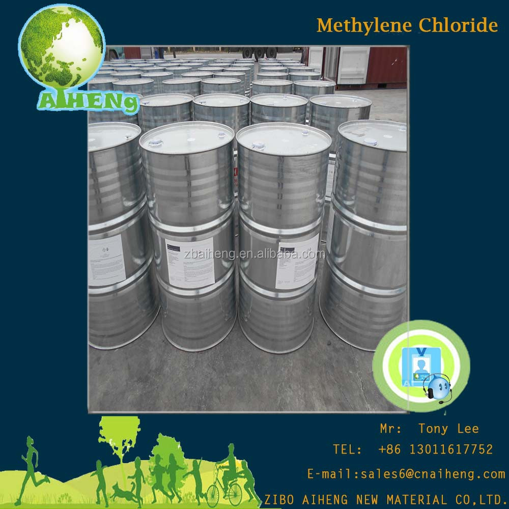Low Price Organic Pharmaceuticals Drums Dichloromethane Methylene Chloride 99.9%
