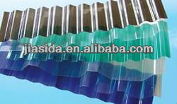 polycarbonate clear corrugated plastic roofing sheets