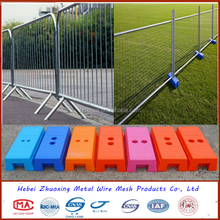 High Quality Outdoor Plastic Feet Metal Fence /Temporary Fence For Garden