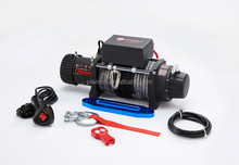 TOP SALE 4WD 12V/24V USED ATV UTV JEEP ELECTRIC WINCH 12000LB WITH Synthetic rope