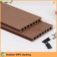 Weather-resistant Wood Plastic Composite / WPC Decking / WPC Flooring