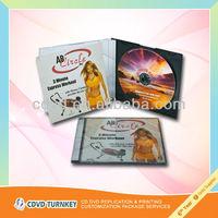 professional CD duplication and printing