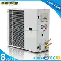 0.5-6hp air conditioning condensing unit , cold kitchen equipment , cold room condenser unit in doors
