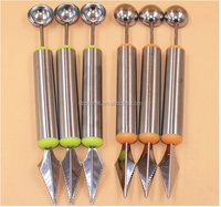 Multi Use Fruit Carving Knives, Watermelon Baler, Ice Cream Scooper