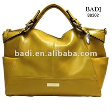 Badi Classical leather handbags made in usa