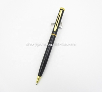 slim style popular promo metal pens promotional items