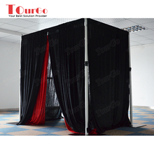 TourGo wedding farbic pipe and drape wholesale system for sale