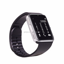 High Quality 1.54'' Touch Screen GT08 The Best Bluetooth Hand Cell Phone Smart Watch Mobile Phone