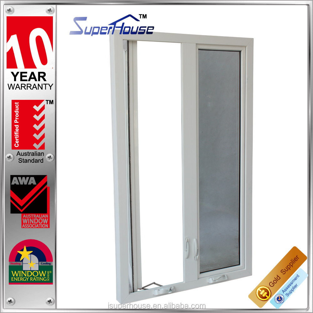 air vents aluminum casement window with crank for caravan