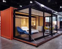 Modified Expandable Shipping Container Frames House with Solar panel