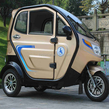 Durable adult electric passenger tricycle with adjustable seat