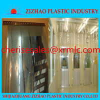 Alibaba stainless steel decorative accessories Pvc strip curtain