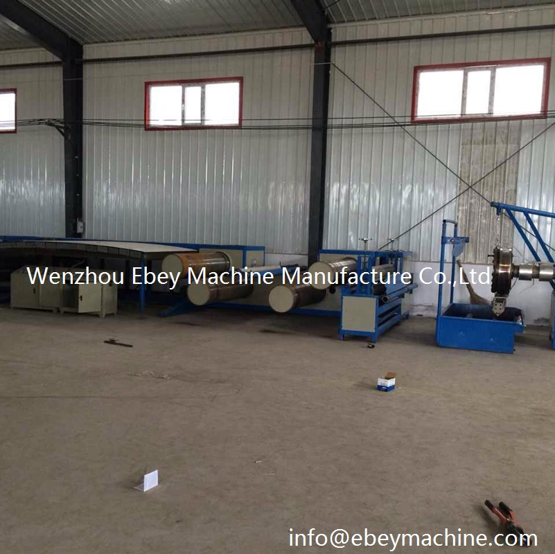 Pp Tape Stretching Line Twine Yarn Extruder Split Film Machine