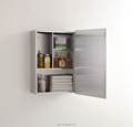Factory direct supplied stainless steel bathroom storage cabinet 7022