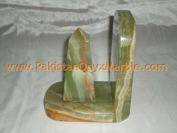 Onyx Cube Bookends/ ONYX BOOKENDS HANDICRAFTS