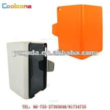 PU leather cover case for tablet PC iPad mini