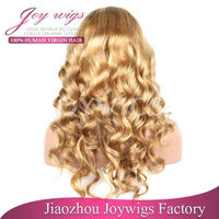 Lace front wig for white women human hair,cheapest india hair wig price,high density lace wigs