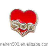 Newest hot selling alloy floating charms for lockets
