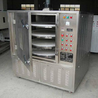 Hot selling apple/banana/chilli slice vacuum microwave dryer