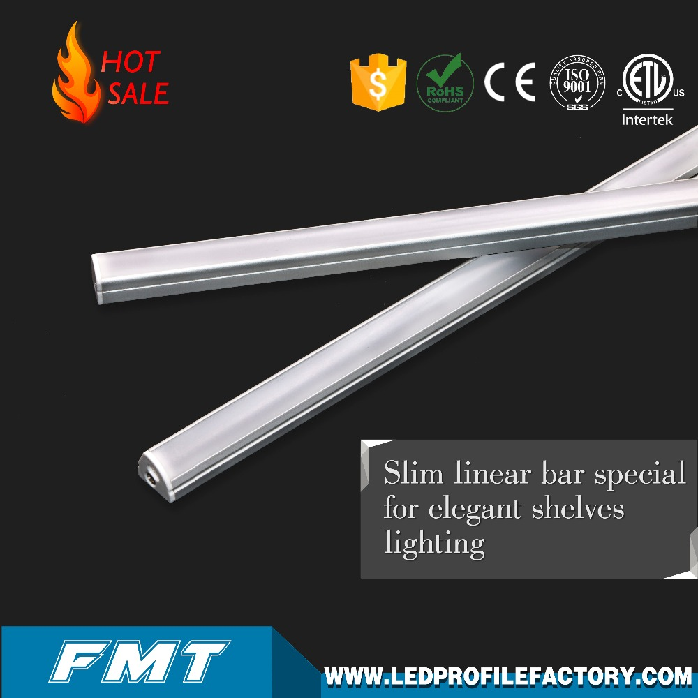 Led Cove Lighting Led Linear Fixture, Led Linear Lighting Fixture Linkable Linear Light Aluminium Housing For Goods Shelf