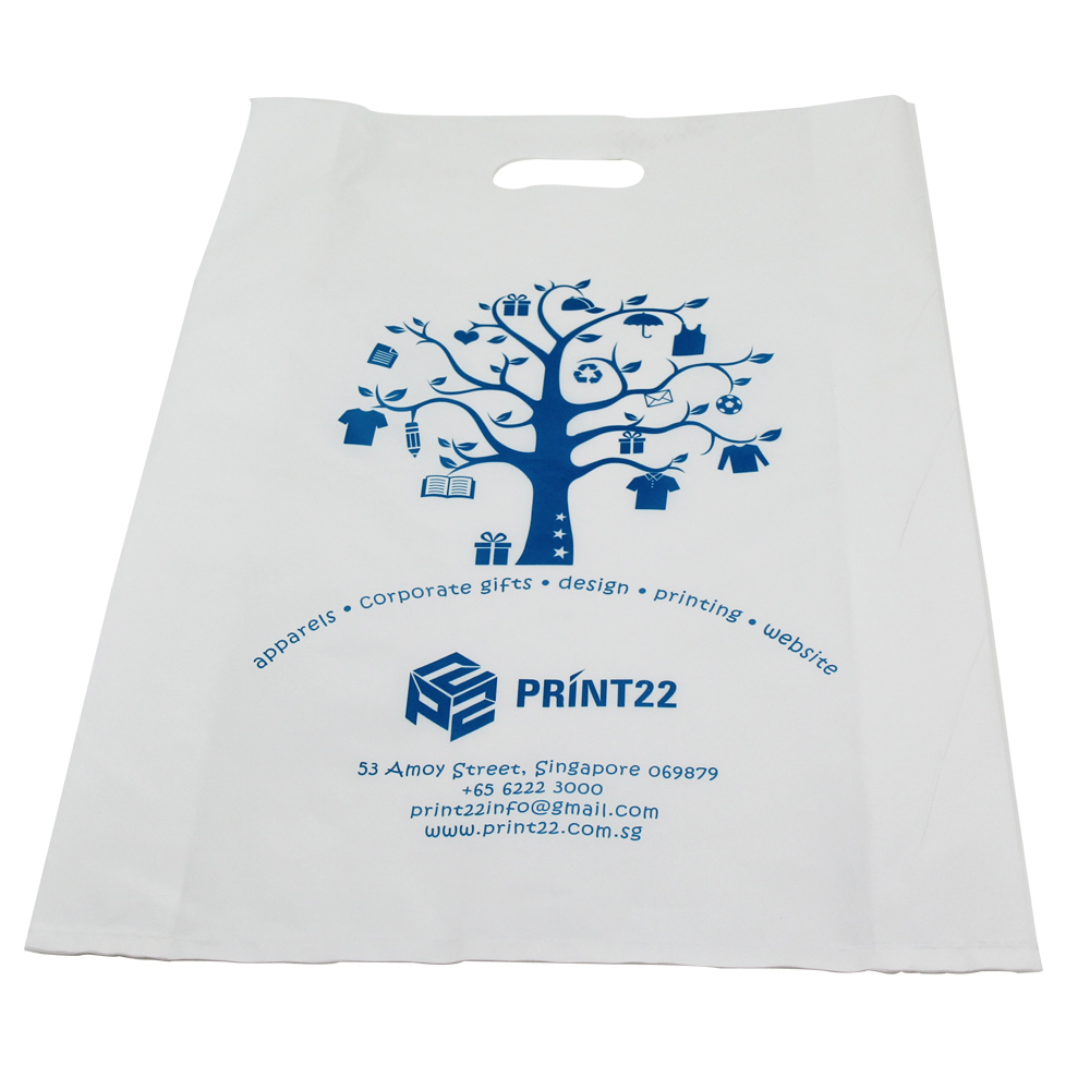 branded design printing logo customized dissolvable plastic bags